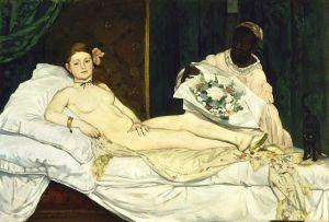 """Olympia"", Édouard Manet"